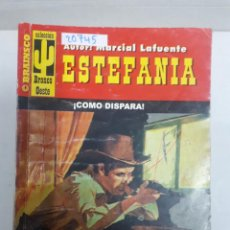 Gebrauchte Bücher - 20745 - NOVELAS DEL OESTE - ESTEFANIA - COLECCION BRONCO OESTE - COMO DISPARA - Nº 214 - 168032224