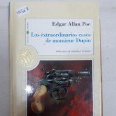 Libri di seconda mano: 14368 - LOS EXTRAORDINARIOS CASOS DE EDGAR ALLAN POE - Nº 19 - POR EDGAR ALLAN POE - AÑO 1999. Lote 168072672