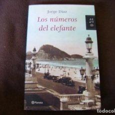 Libros de segunda mano: LOS NÚMEROS DEL ELEFANTE. Lote 168072904