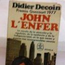 Libros de segunda mano: BJS.DIDIER DECOIN.JOHN LÉNFER.EDT, PLAZA Y JANES.BRUMART TU LIBRERIA.. Lote 168186216