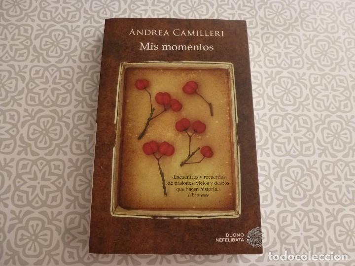 LIBRO- MIS MOMENTOS (ANDREA CAMILLERI) (Libros de Segunda Mano (posteriores a 1936) - Literatura - Narrativa - Otros)