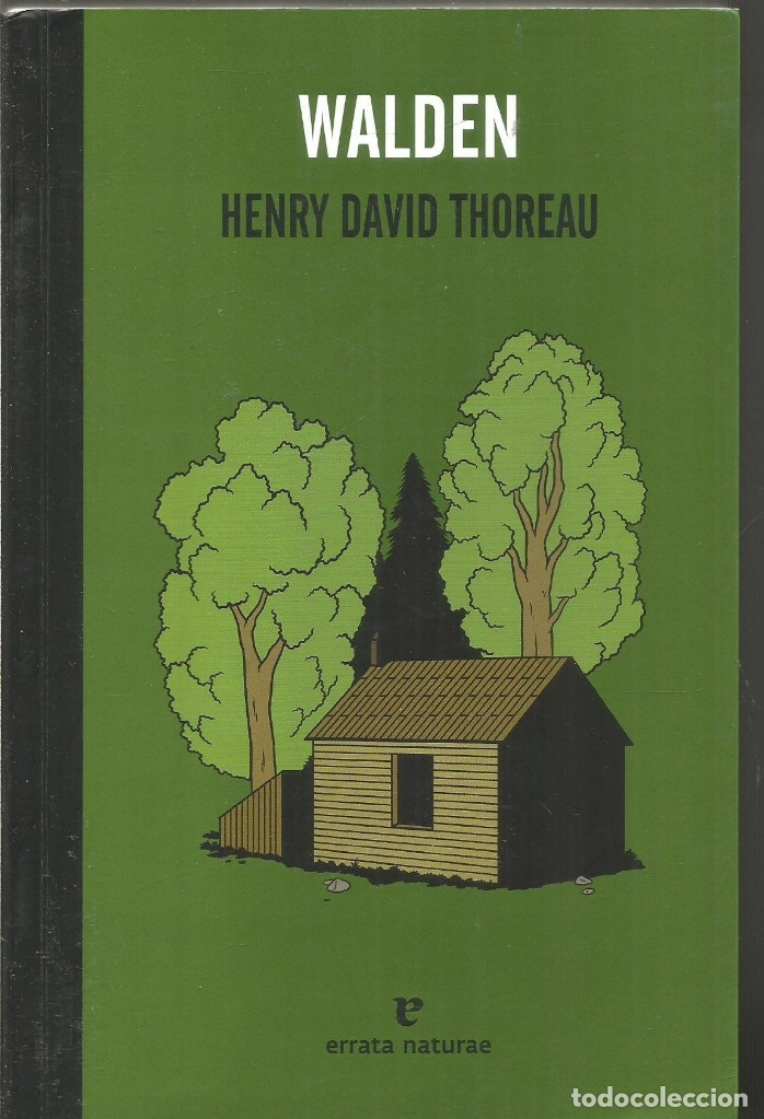 Henry David Thoreau Walden Errata Naturae