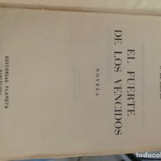 Libros de segunda mano: EL FUERTE DE LOS VENCIDOS. Lote 168359469