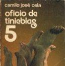Libros de segunda mano: OFICIO DE TINIEBLAS 5 - CAMILO JOSÉ CELA. NOGUER. Lote 168373228