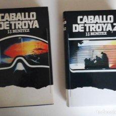 Libros de segunda mano: CABALLO DE TROYA 1 Y 2. J.J.BENITEZ. EDICIÓN CÍRCULO DE LECTORES, 1986. BUENA EDICIÓN. Lote 168399156