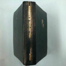 Libros de segunda mano: B. BJORNSON OBRAS ESCOGIDAS - AGUILAR PIEL 1967. Lote 168627269