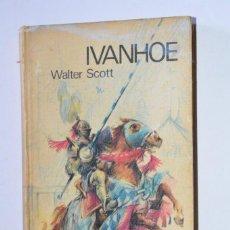 Libros de segunda mano: LIBRO IVANHOE WALTER SCOTT 1969 CÍRCULO DE LECTORES INCLUYE ILUSTRACIONES INTERIORES TAPA DURA. Lote 168843228