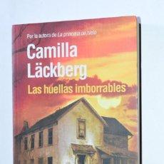 Libros de segunda mano: LIBRO LAS HUELLAS IMBORRABLES CAMILLA LÄCKBERG MAEVA EDICIONES 2011 AUTORA LA PRINCESA DE HIELO. Lote 168857348