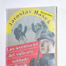 Libros de segunda mano: LIBRO LAS AVENTURAS DEL VALIENTE SOLDADO SVEJK JAROSLAV HASEK 2009 EDITORIAL SIRIO BOOKS4POCKET. Lote 168858208