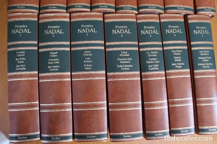 Libros de segunda mano: PREMIOS NADAL EDICIONES DESTINO 15 TOMOS VER FOTOS - Foto 2 - 168923684