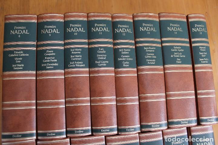 Libros de segunda mano: PREMIOS NADAL EDICIONES DESTINO 15 TOMOS VER FOTOS - Foto 3 - 168923684