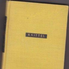 Libros de segunda mano: JEAN-MICHEL DE JOHN KNITTEL (PRIMERA EDICIÓN) 1957(JOSÉ JANÉS). Lote 168945660