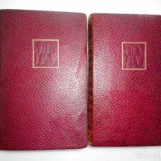 Libros de segunda mano: VV.AA LAS DIEZ MEJORES NOVELAS INMORTALES(2 TOMOS) Y94775 . Lote 169198956