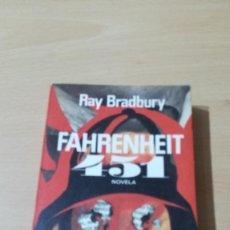 Libros de segunda mano: FHARENHEIT 451/ RAY BRADBURY/ / / I-203. Lote 169231800