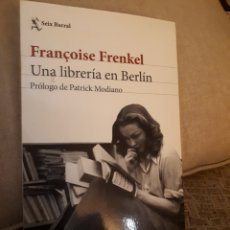 Libros de segunda mano: UNA LIBRERÍA EN BERLÍN. FRANÇOISE FRENKEL. Lote 169350392
