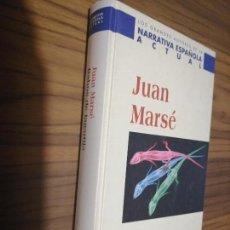 Libros de segunda mano: RABOS DE LAGARTIJA. JUAN MARSÉ. PLANETA DEAGOSTINI. TAPA DURA. BUEN ESTADO. Lote 169357124