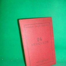 Libros de segunda mano: 24 ARTÍCULOS, ROGELIO CASAS CADILLA, ED. ESTADES. Lote 169444616