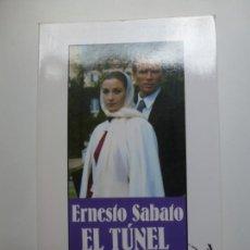 Libros de segunda mano: EL TÚNEL. ERNESTO SABATO. BIBLIOTECA DE BOLSILLO.. Lote 169639904