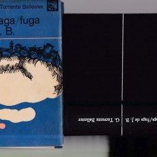 Libros de segunda mano: LA SAGA / FUGA DE J. B. - GONZALO TORRENTE BALLESTER - EDICIONES DESTINO Nº 388 / 1973. Lote 169744368