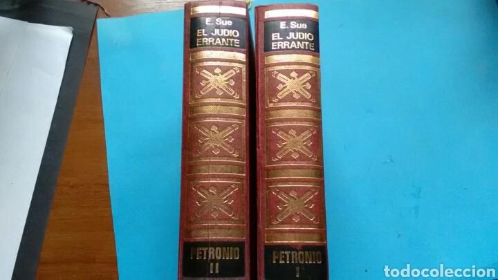 Libros de segunda mano: EL JUDÍO ERRANTE . Eugenio Sue . Ed.Petronio 1* y 2* tomos - Foto 2 - 169974406