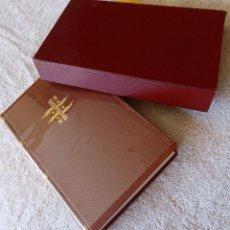 Libros de segunda mano: L-5361. DOSTOIEVSKI. CRIMEN Y CASTIGO / EL SUEÑO DEL TÍO, EDIT. VERGARA. AÑO 1961. PIEL Y ESTUCHE.. Lote 170178812