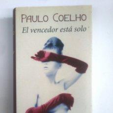 Libros de segunda mano: EL VENCEDOR ESTA SOLO. PAULO COELHO. CIRCULO DE LECTORES. TDK388. Lote 170305104