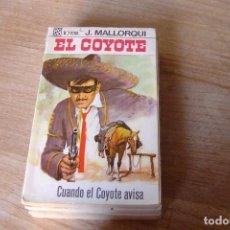 Libros de segunda mano: EL COYOTE Nº 33 CUANDO EL COYOTE AVISA. J. MALLORQUI. 1968. Lote 170364656