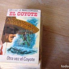 Libros de segunda mano: EL COYOTE Nº 37 OTRA VEZ EL COYOTE. J. MALLORQUI. 1968. Lote 170365088