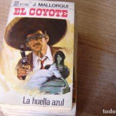 Libros de segunda mano: EL COYOTE Nº 38 LA HUELLA AZUL J. MALLORQUI. 1968. Lote 170365216