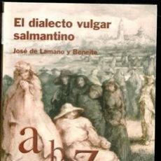 Libros de segunda mano: EL DIALECTO VULGAR SALMANTINO, JOSÉ DE LAMANO Y BENEITE. Lote 170474118