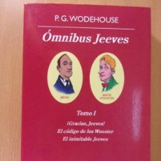 Libros de segunda mano: ÓMNIBUS JEEVES / P.G. WODEHOUSE / TOMO I / 1ª EDICIÓN 2010. ANAGRAMA.. Lote 170550236