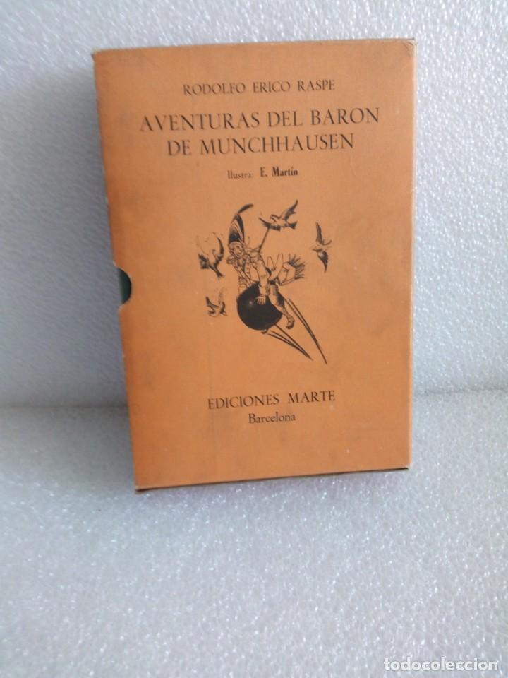 AVENTURAS DEL BARON DE MUNCHHAUSEN RODOLFO ERICO RASPE EDIT MARTE AÑO 1967 (Libros de Segunda Mano (posteriores a 1936) - Literatura - Narrativa - Otros)