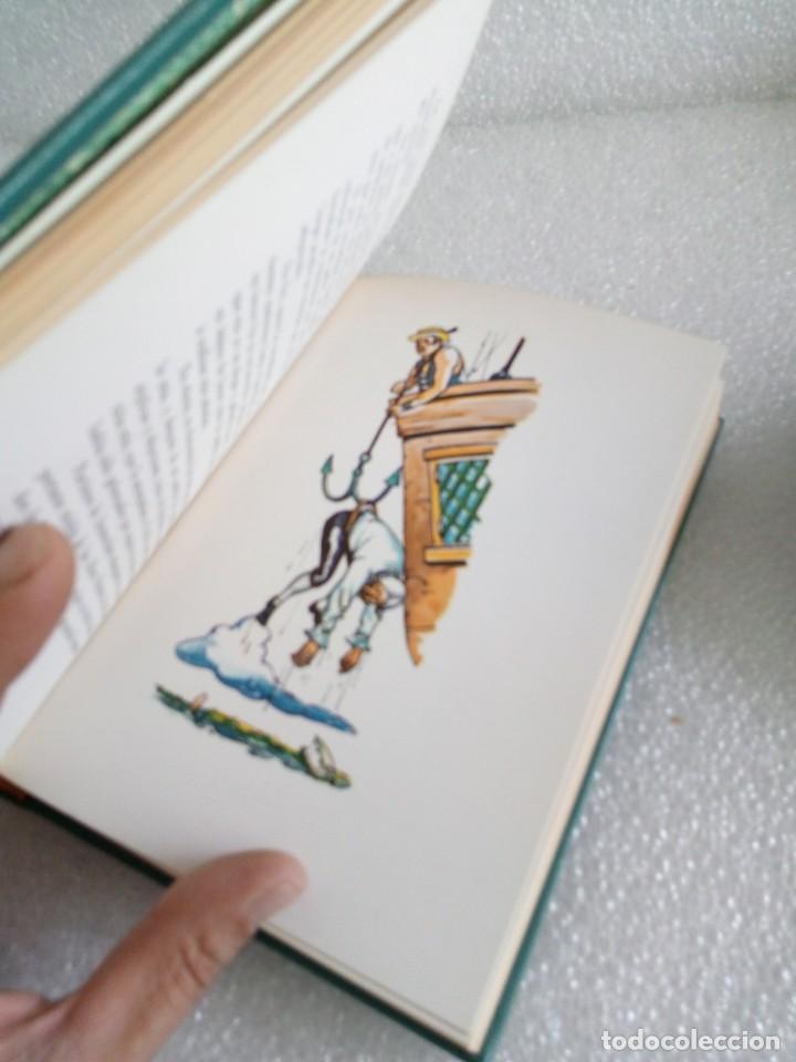 Libros de segunda mano: AVENTURAS DEL BARON DE MUNCHHAUSEN RODOLFO ERICO RASPE EDIT MARTE AÑO 1967 - Foto 7 - 170651070
