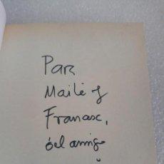 Libros de segunda mano: FIRMADO Y DEDICADO - FIRMA Y DEDICATORIA DEL AUTOR: GABRIEL GARCIA MARQUEZ - LA HOJARASCA. Lote 170914170