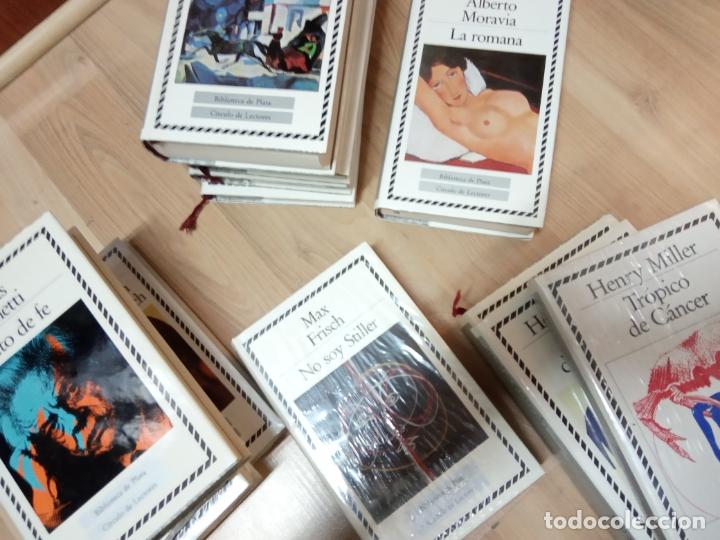 Libros de segunda mano: 18 tomos biblioteca de plata -circulos de lectores . - Foto 2 - 170920195