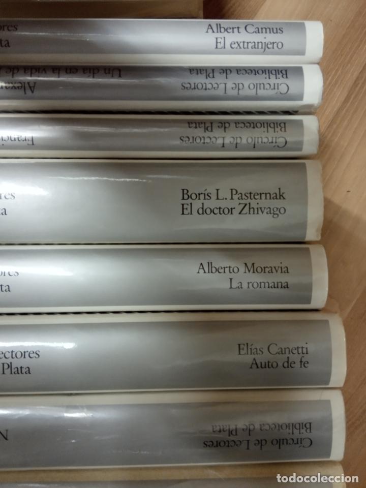 Libros de segunda mano: 18 tomos biblioteca de plata -circulos de lectores . - Foto 3 - 170920195