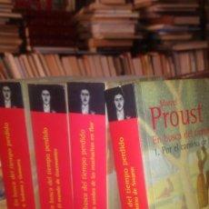 Libros de segunda mano: EN BUSCA DEL TIEMPO PERDIDO , MARCEL PROUST , BIBLIOTECA PROUST , ALANZA EDITORIAL. Lote 170964450