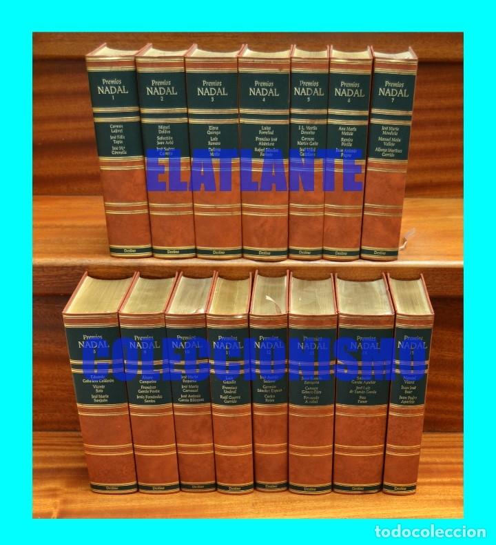 Libros de segunda mano: PREMIOS NADAL EDICIÓN DE LUJO SERIE COMPLETA 15 TOMOS - EXCELENTE ESTADO - LAFORET DELIBES FERLOSIO - Foto 2 - 171318218