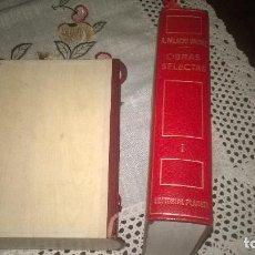 Libros de segunda mano: 1-ARMANDO PALACIO VALDES, OBRAS COMPLETAS I -NOVELAS. Lote 171369115