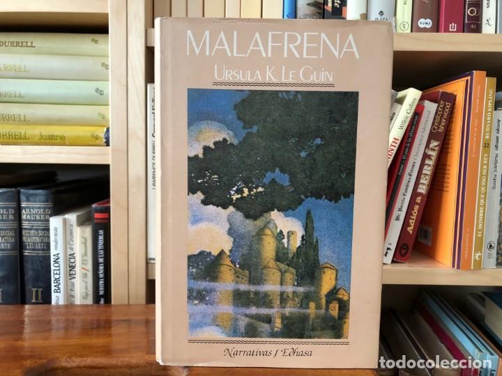 MALAFRENA. URSULA K LE GUIN EDHASA 1985 , NOVELA (Libros de Segunda Mano (posteriores a 1936) - Literatura - Narrativa - Otros)