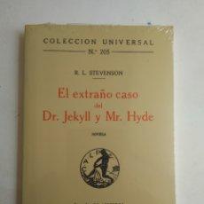 Libros de segunda mano: EL EXTRAÑO CASO DEL DR. JEKYLL Y MR. HYDE/R.L. STEVENSON. Lote 171524483