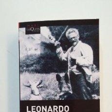 Libros de segunda mano: EL HOMBRE QUE AMABA A LOS PERROS. - LEONARDO PADURA. TUSQUETS EDITORES. TDK392. Lote 171526674