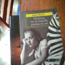 Libros de segunda mano: JAVIER MARIAS. MAÑANA EN LA BATALLA PIENSA EN MI. ALFAGUARA. Lote 171538583