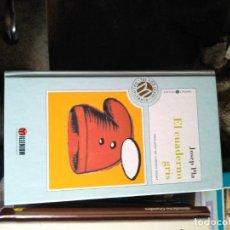 Libros de segunda mano: EL CUADERNO GRIS. JOSEP PLA. Lote 210635327