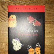 Libros de segunda mano: MARIO SATZ EL ALFABETO ALADO ACANTILADO. Lote 171663837