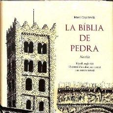 Libros de segunda mano: LA BÍBLIA DE PEDRA (CATALÁN). Lote 171674953