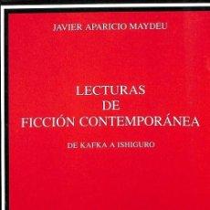 Libros de segunda mano: LECTURAS DE FICCIÓN CONTEMPORÁNEA. Lote 171675003