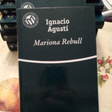 Libros de segunda mano: MARIONA REBULL. IGNACIO AGUSTÍ. BIBLIOTEX 2001. 256PGS. Lote 171676999