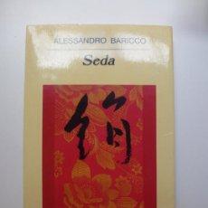Libros de segunda mano: SEDA. ALESSANDRO BARICCO. ANAGRAMA. Nº 370.. Lote 171677458