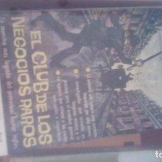 Libros de segunda mano: EL CLUB DE LOS NEGOCIOS RAROS - CHESTERTON. G. K., ES UN LIBRO PLAZA. Lote 172024725